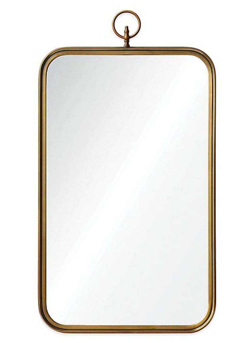 36-Inch Victorian Coburg Mirror in Gold from Bed, Bath, and Beyond
