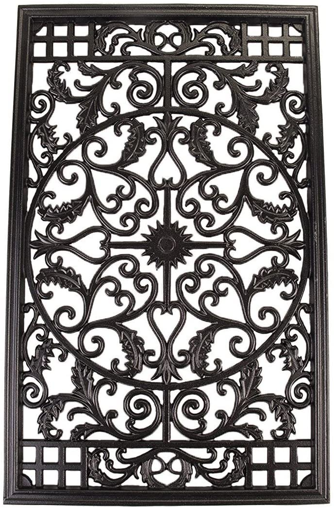 Iron Rectangular Decorative Insert For Fencing, Gates, Home, Garden from Amazon
