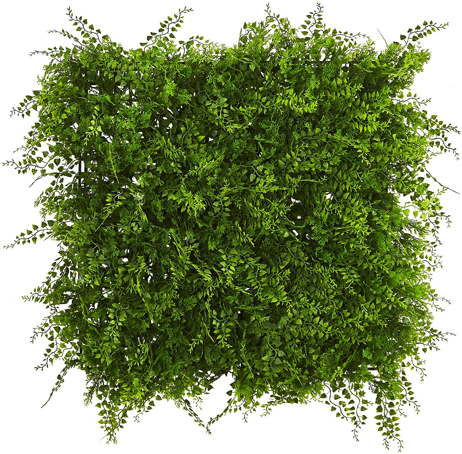 """Nearly Natural Lush Mediterranean Artificial Fern Wall Panel, 20"""" x 20"""" from Amazon"""