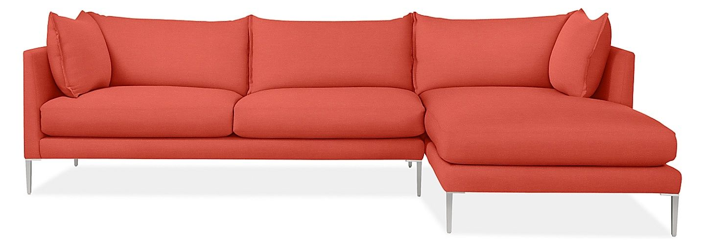 Coral sofa with chaise from Room&Board